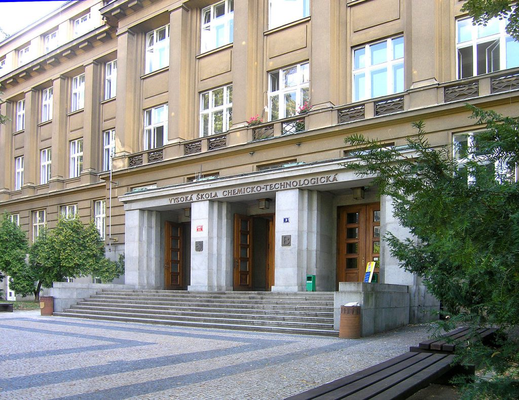 Façade de l'UTC Prague
