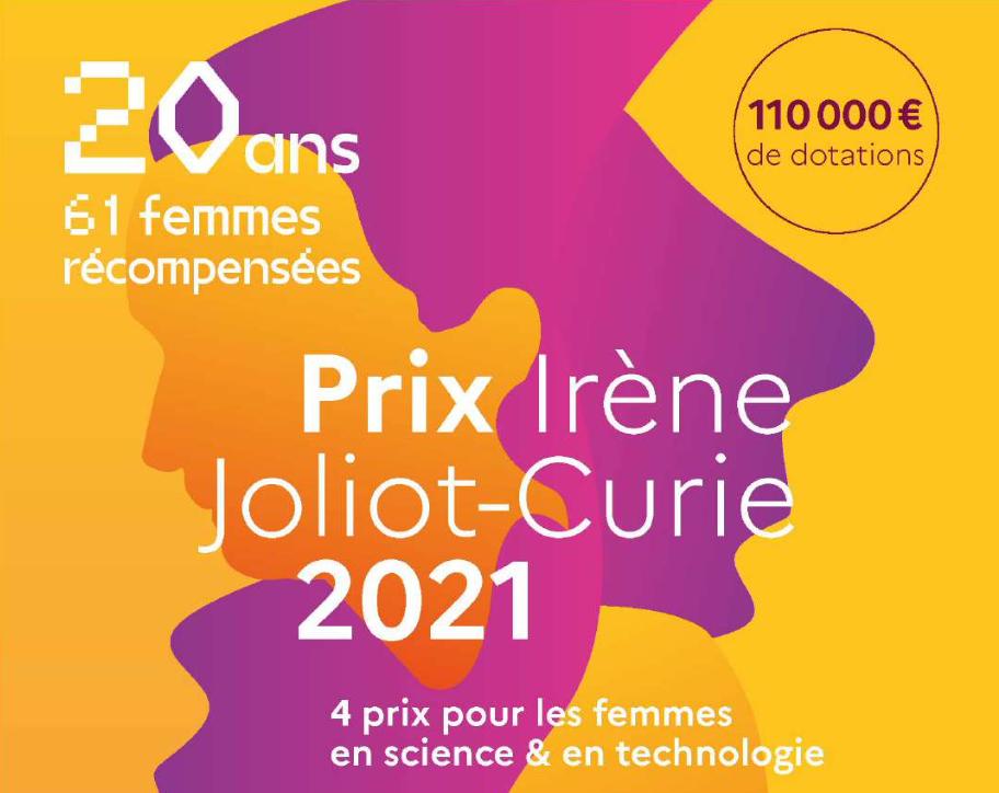 Prix Irène Joliot Curie 2021